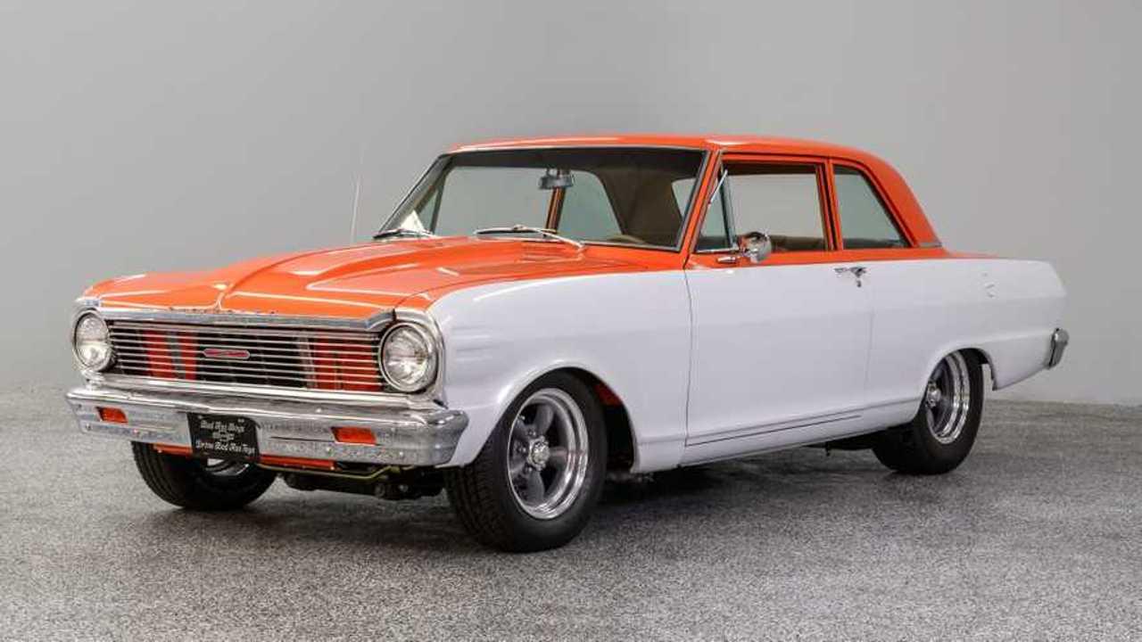 Classic 1965 Chevrolet Nova Wears A Creamsicle-Like Paint Job
