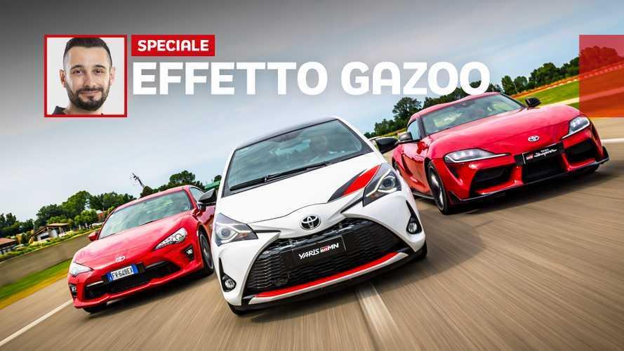 Che effetto fa guidare una Toyota Gazoo Racing?