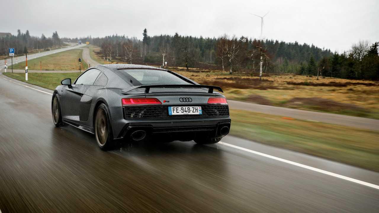Essai Audi R8 (2019)