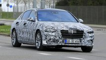 2021 Mercedes S-Class spy photo