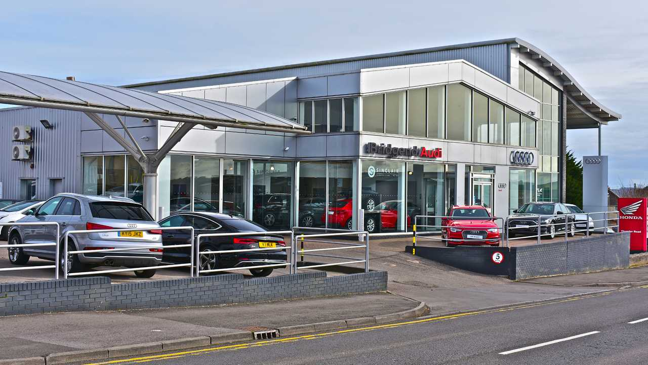 Sinclair Audi in Bridgend Wales UK