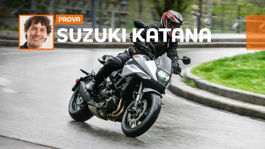 Suzuki Katana: sfruttabile in città, si esalta fuoriporta
