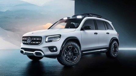 Mercedes-Benz GLB Concept, debut con tracción integral y siete plazas
