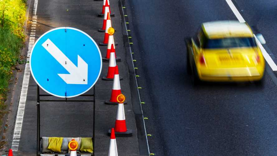 Speed limits to rise through motorway roadworks