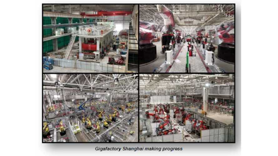 Tesla Shows Gigafactory 3 With First Set Of Machinery Installed
