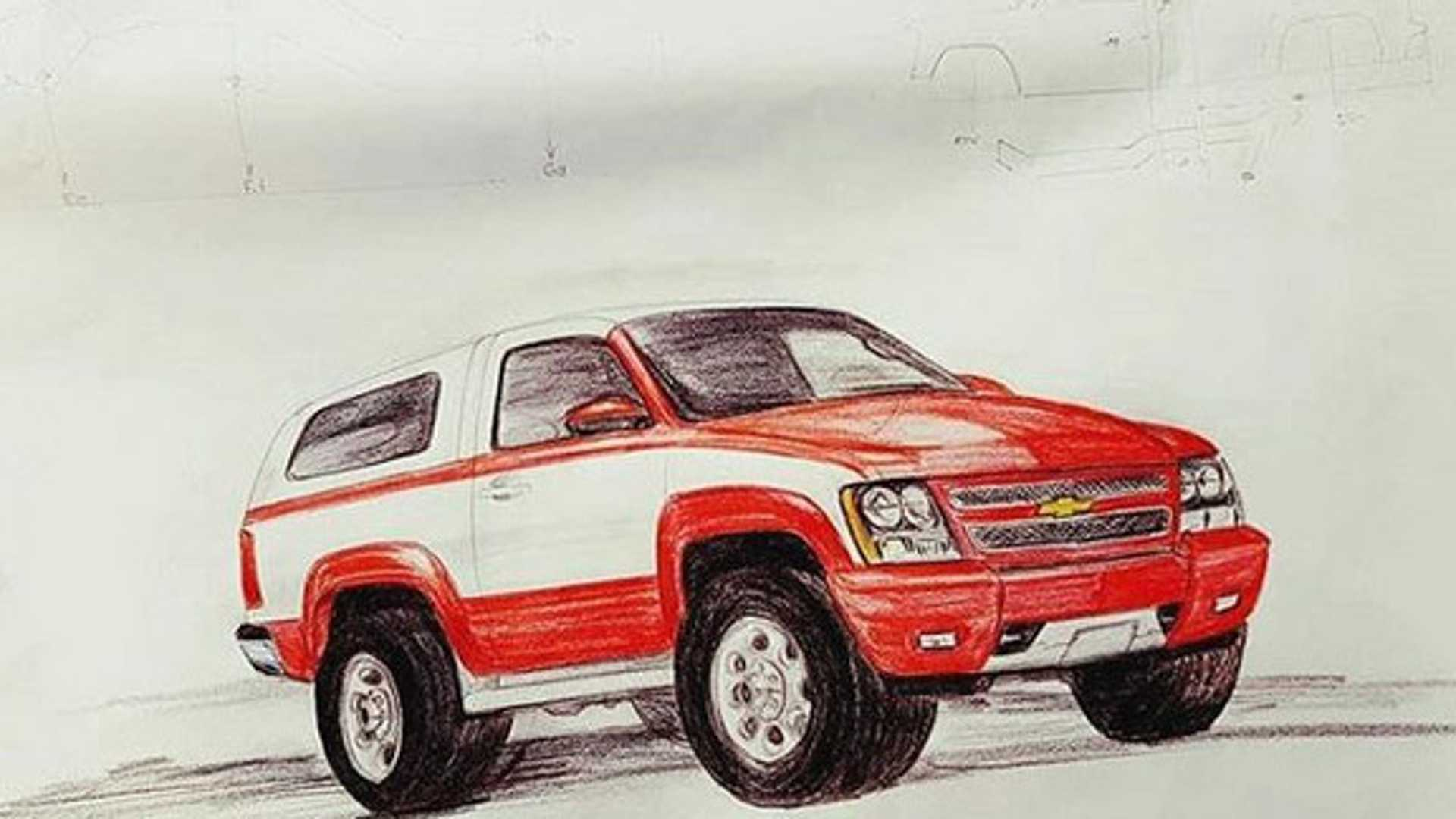 "[""Custom Silverado Is A Retro K5 Blazer""]"
