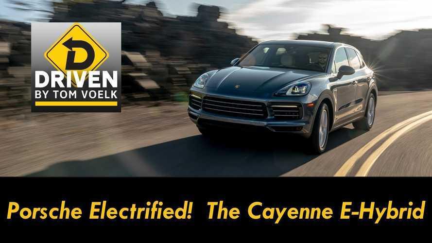 Porsche Cayenne E-Hybrid Reviewed On Winding Roads Of Oregon: Video