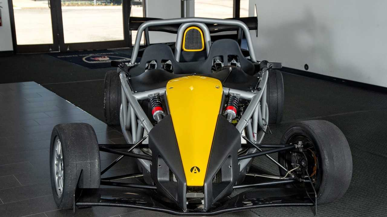 Create A Buzz In This Black-And-Yellow 2012 Ariel Atom 3