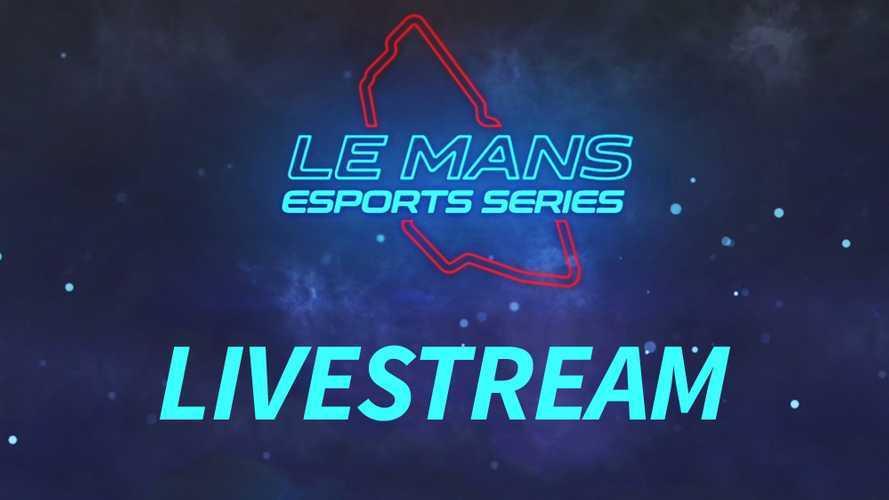 Suivez en direct la super finale des Le Mans Esports Series !