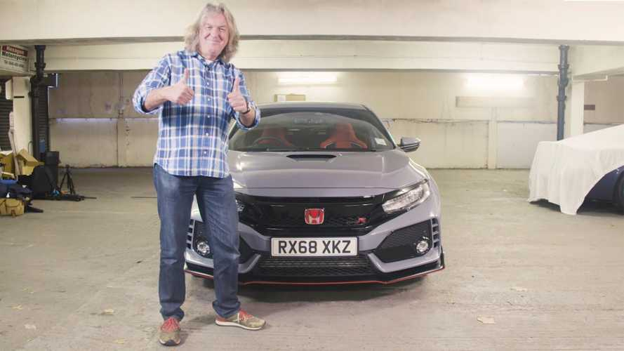 James May Needs Only 2 Minutes To Review The Honda Civic Type R