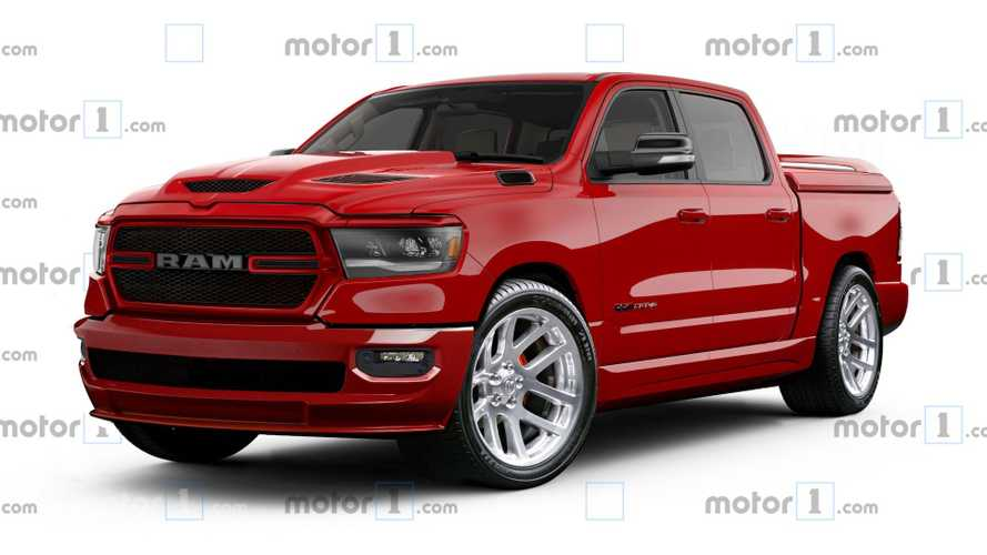 Modern Ram Reimagined With Retro SRT-10 Cues