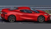 Mid-Engined Chevrolet Corvette Profile Renderings