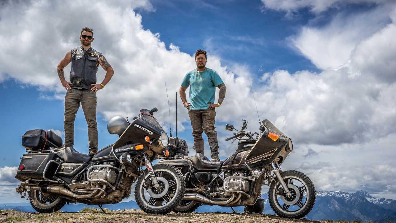 The Men Who ADV Gold Wings: Meet Dos Honduros