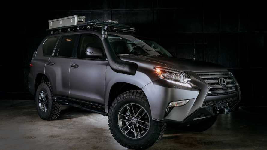 Концепт Lexus GX Off-Road