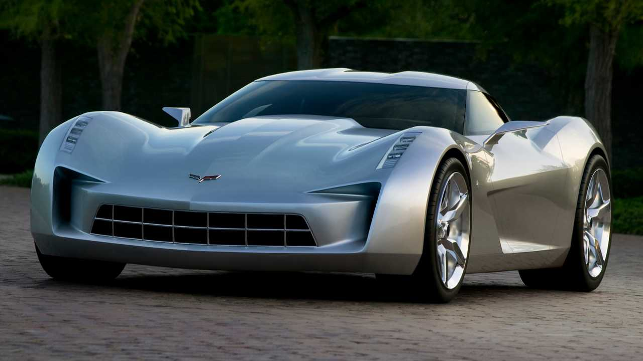 2009 Chevy Corvette Stingray concept