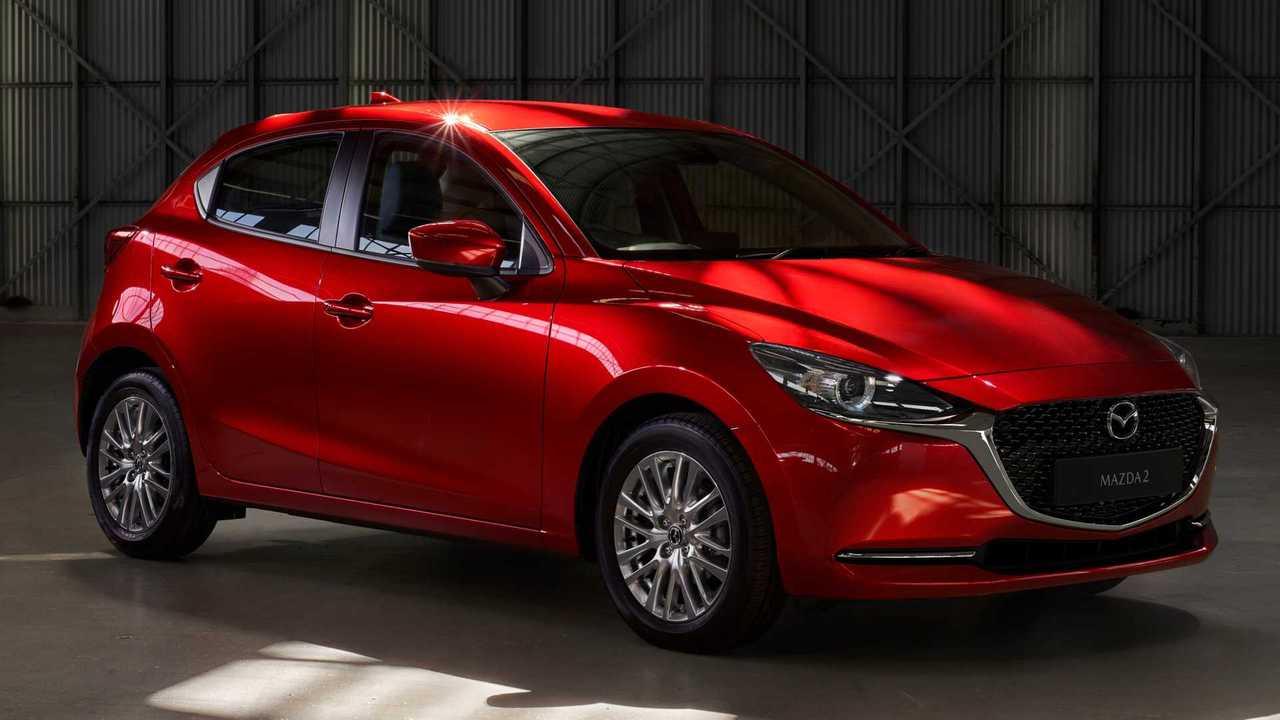 Mazda2 2020, restyling