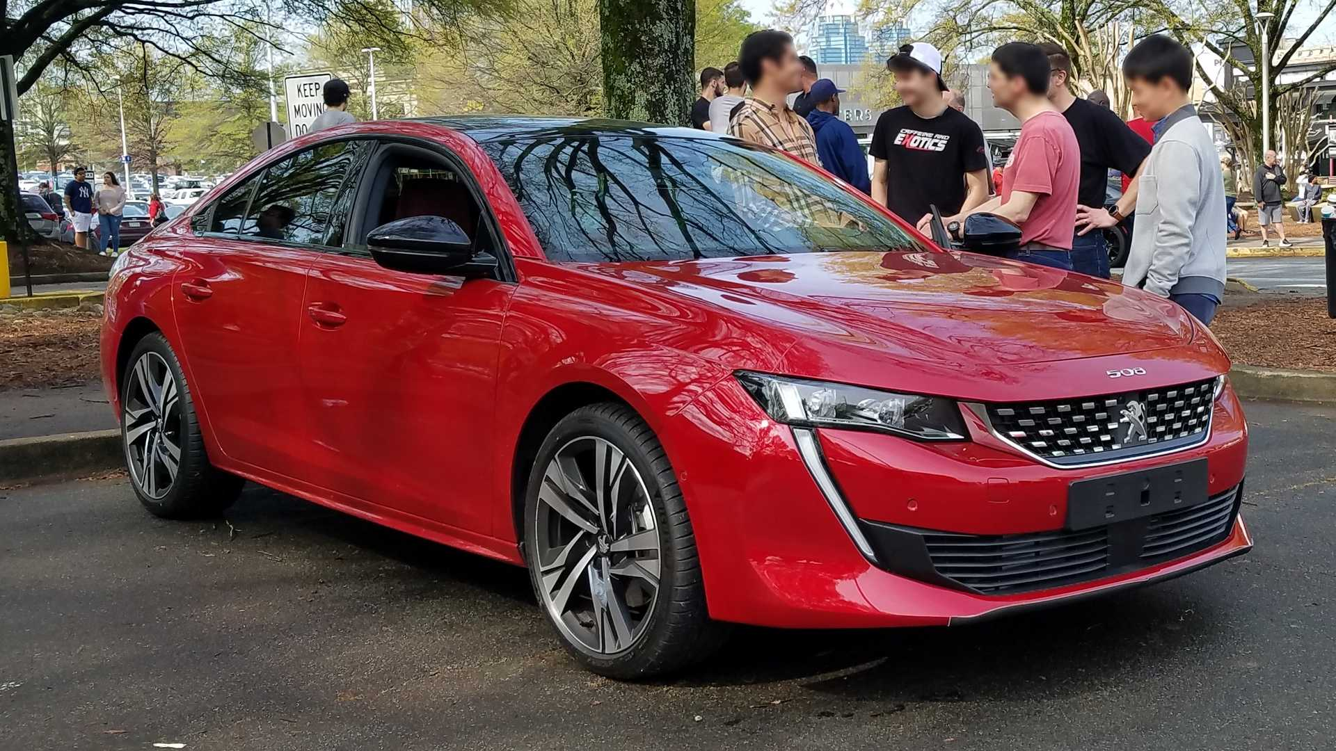 New Peugeot 508 Gt Shows Up To Cars And Coffee In Atlanta