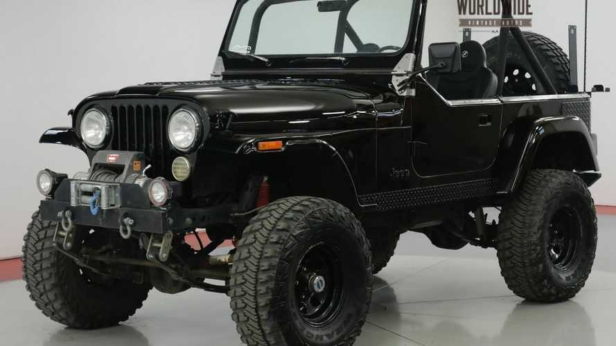 Hit The Trails In This 1984 Jeep CJ Custom