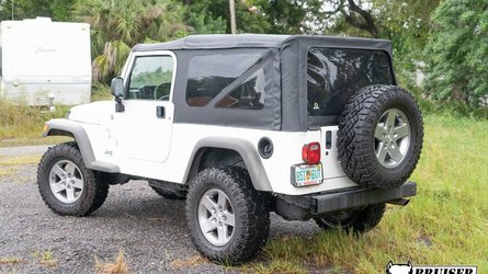 Be a sleeper jeeper in this ls swapped jeep wrangler lj