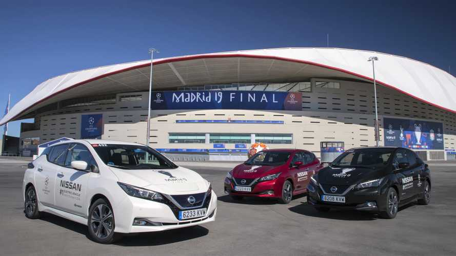 Nissan Promotes Electric Cars At The UEFA Champions League Final