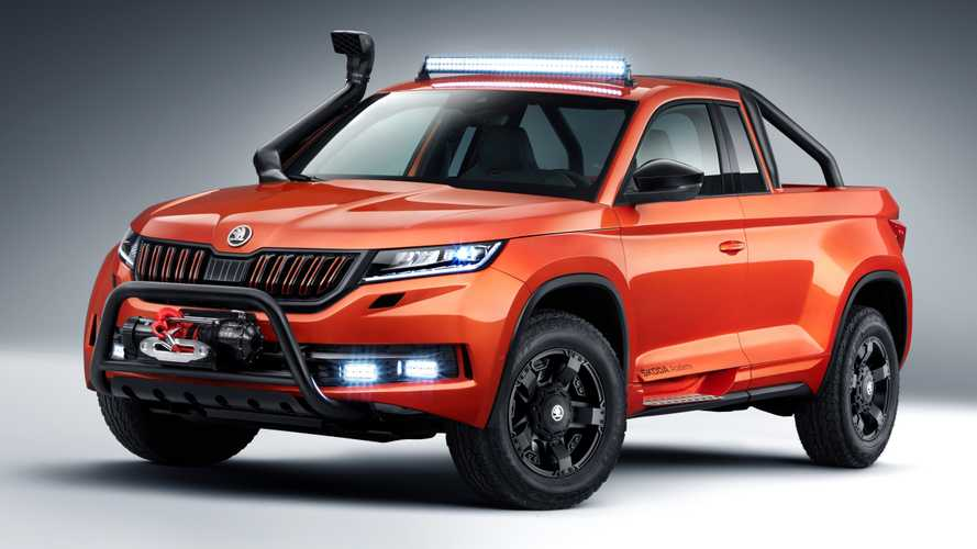 Skoda Mountiaq revealed as one-off pickup truck