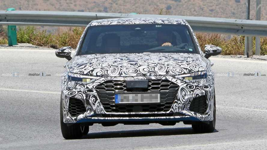 Audi S3 Saloon Spy Shots