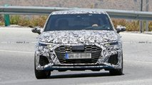 Audi S3 Saloon Spy Shots