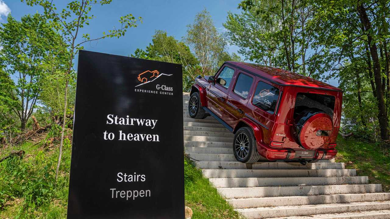 Mercedes Celebrates G-Class Anniversary With Exclusive Puddle Lamps