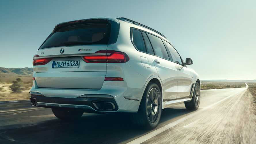 BMW's most powerful X5 and X7 SUVs revealed