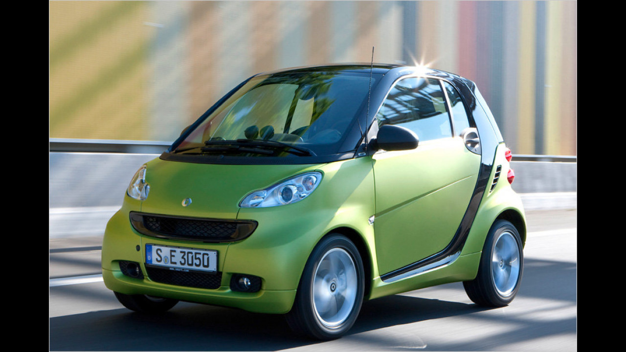 Kleinstwagen: smart fortwo coupé 0.8 cdi pulse softip
