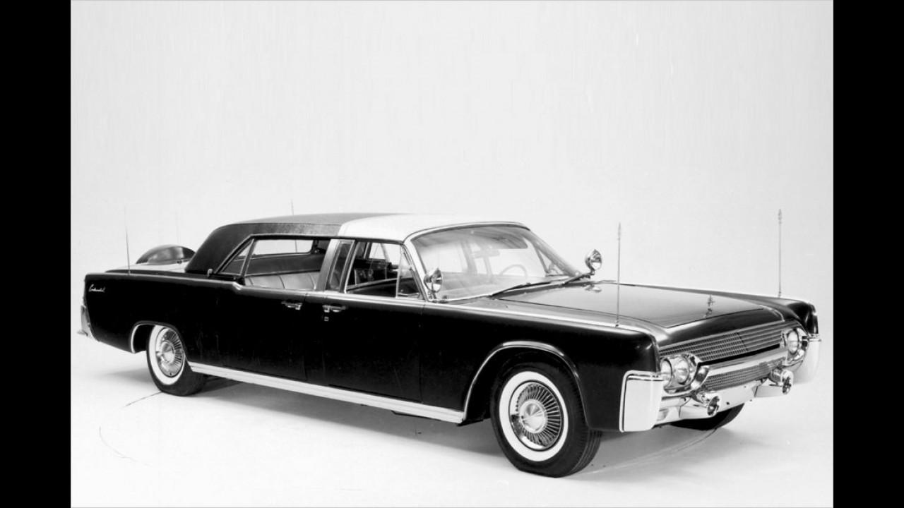 Dieser Lincoln von 1961 tat seinen Dienst unter JFK.