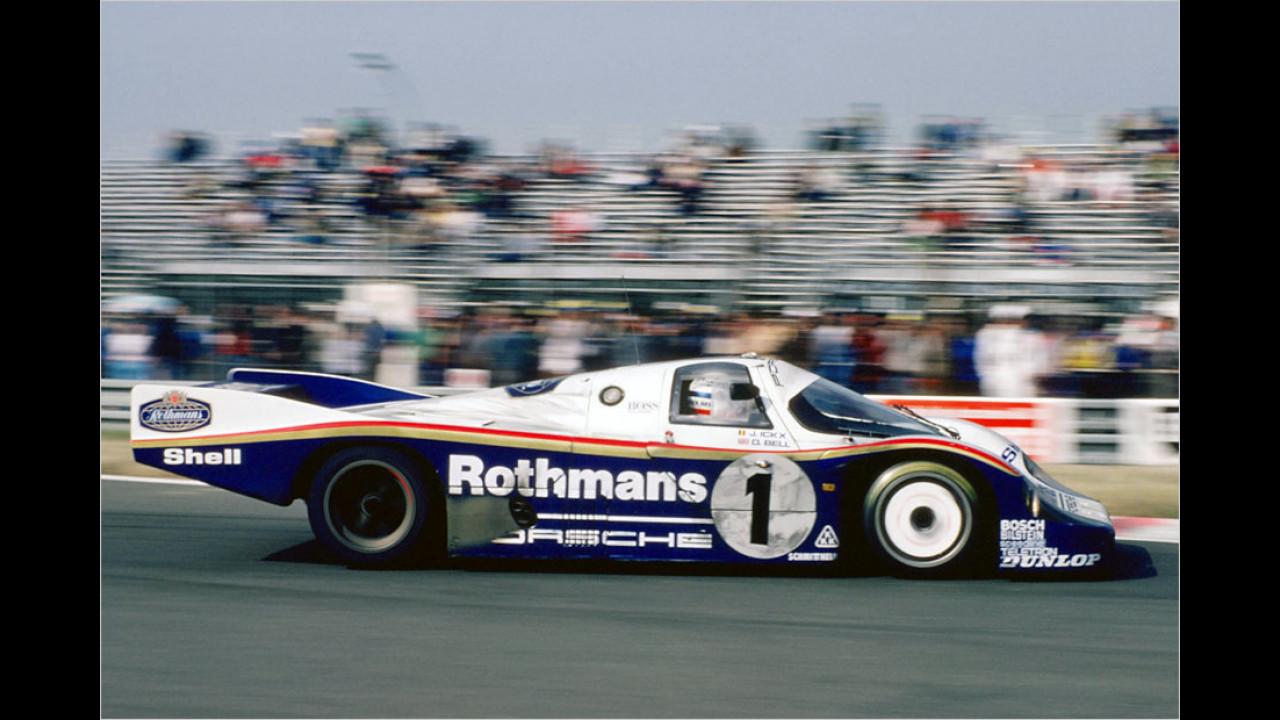 Porsche 956: 6:11 Minuten (schnellstes Auto aller Zeiten)