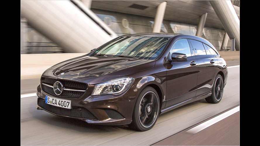 Mercedes CLA Shooting Brake (2015) im Test