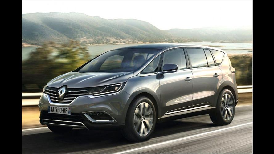 Renault Espace (2015): Das kostet die neue Generation