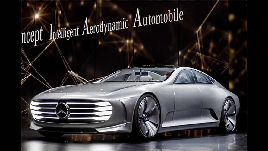 Mercedes Concept IAA: Transformer-Silberpfeil