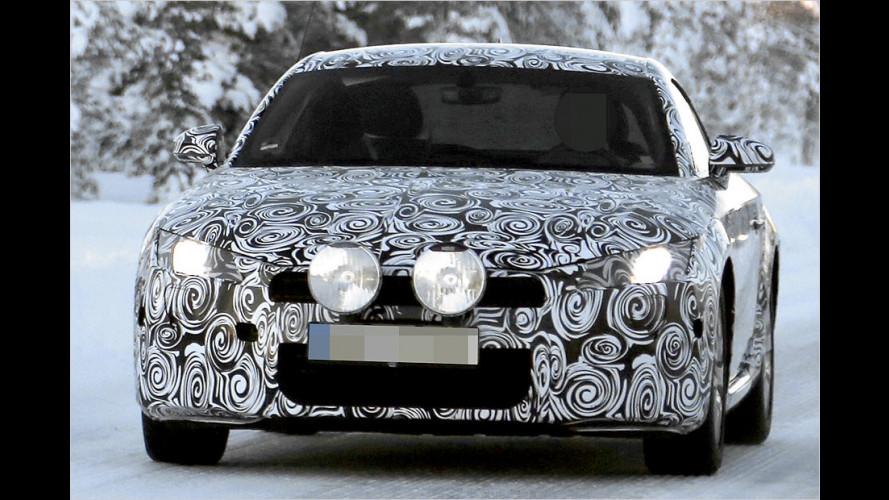Audi TT (2014) als Erlkönig