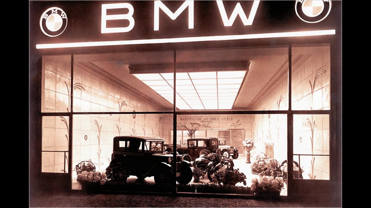1. März 1932: BMW 3/20 PS als erste Eigenkonstruktion