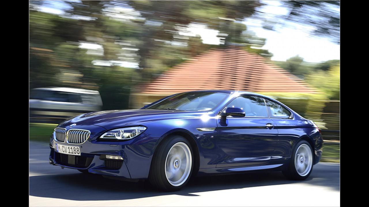 Platz 3: BMW 6er