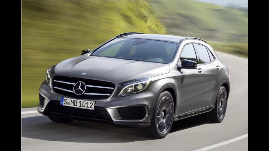 Neuer Mercedes GLA: Angriff auf Audi Q3 und BMW X1