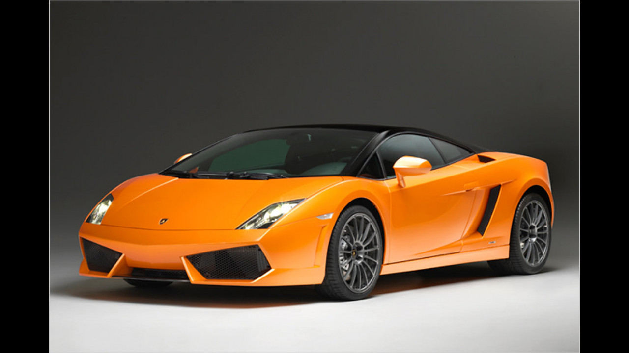 Lamborghini Gallardo LP 560-4: 325 km/h