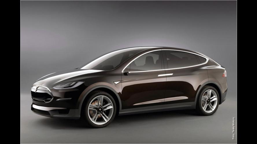 Tesla enthüllt Elektro-Van Model X