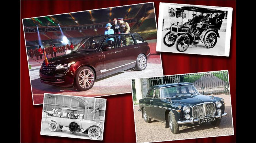 Der Fuhrpark von Queen Elizabeth II., ihrem Gefolge und ihren Ahnen