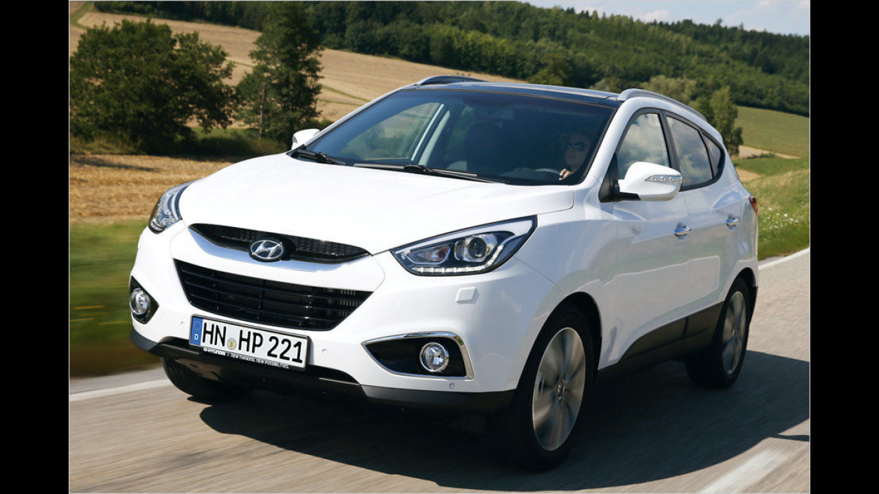 Hyundai ix35 1.6 GDI Classic 2WD (135 PS): 23,2 Prozent