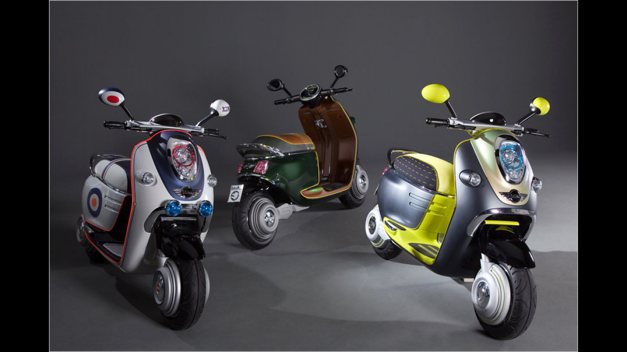 2010: Mini Scooter E Concept