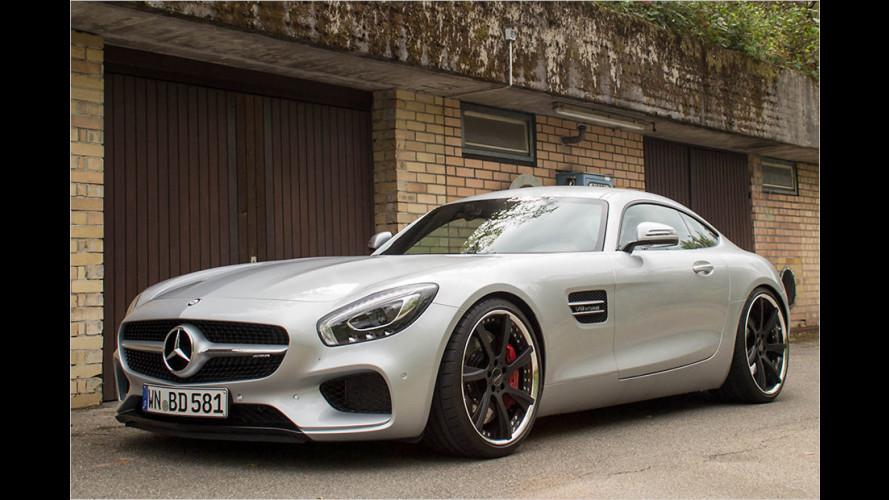 Mercedes-AMG GT: Aufgepeppt