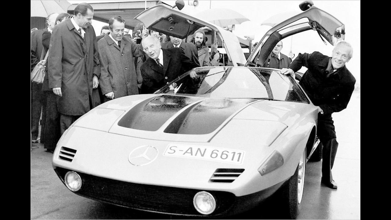 Walter Scheel: Mercedes C 111