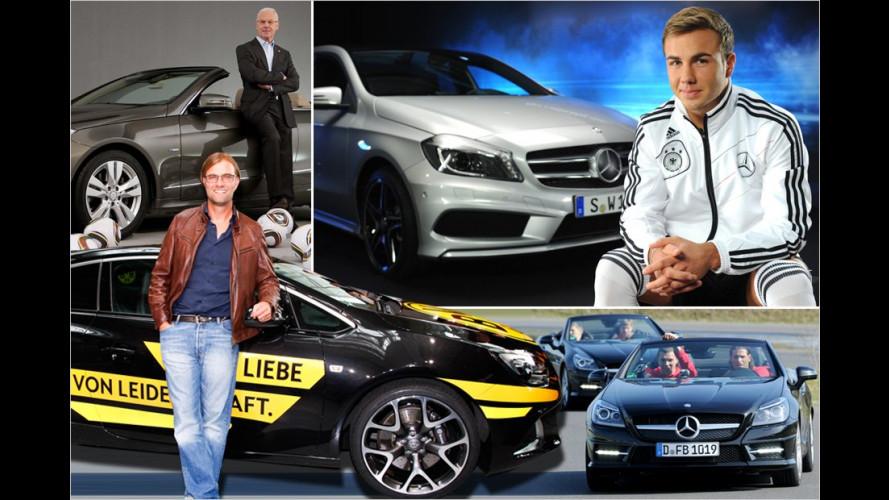 Mit diesen Karossen sind die Bundesliga-Stars unterwegs