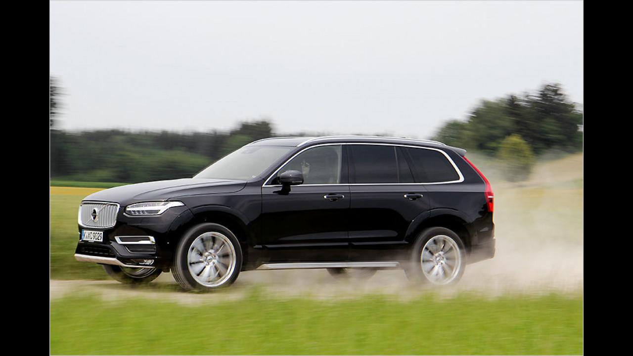 Volvo XC90: Platz 2 ,World Luxury Car of the Year