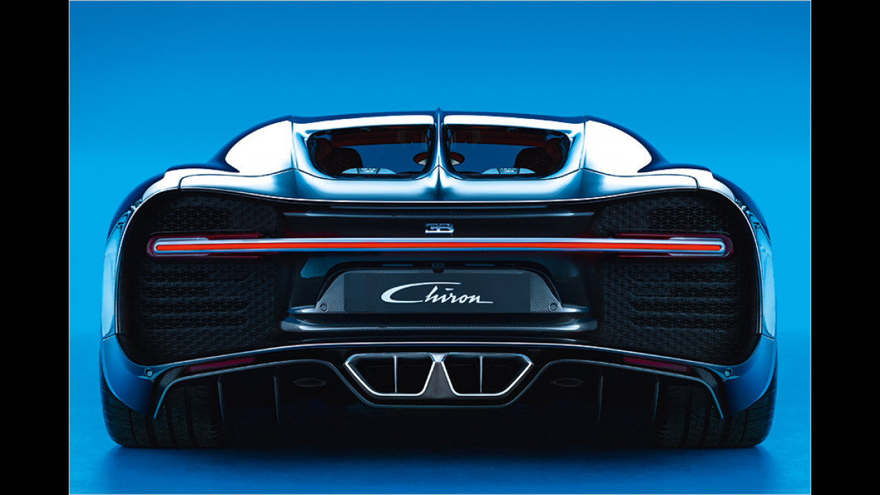 2016: Bugatti Chiron