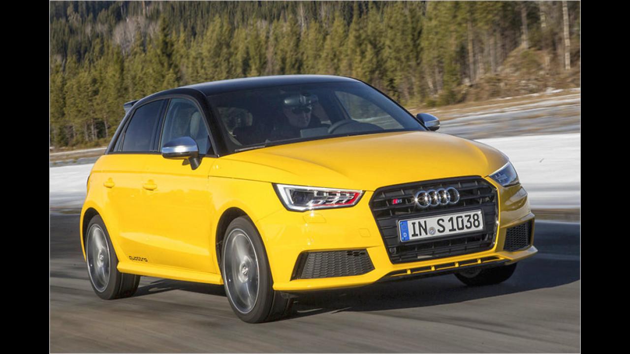 9. Audi S1: 5,8 Sekunden